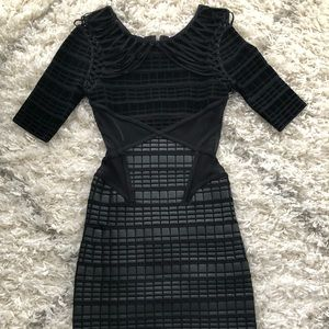 Herve Leger dress size small